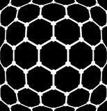 Latticed hexagons pattern. Textured background. Royalty Free Stock Photo