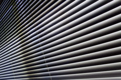 Latticed windows perspective Royalty Free Stock Image
