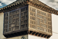 Latticework Balcony Stock Photos