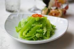 Lattuga dell'asparago Fotografie Stock Libere da Diritti