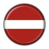 Latvia button flag round shape Royalty Free Stock Photo