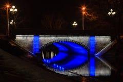 Free Latvia Canal Bridge Royalty Free Stock Photos - 41002768