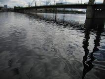latvia Città di Riga Daugava Fotografia Stock