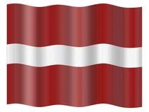 Latvia Flag Stock Image