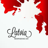 Latvia independence day Stock Photography