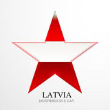 Latvia independence day Stock Photo