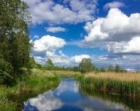 latvia Latgale Regione di Rezekne Immagine Stock Libera da Diritti