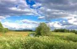 latvia Latgale Rezekne region Royaltyfri Fotografi
