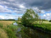 latvia Latgale Rezekne region Royaltyfria Foton