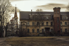 Latvia- old town Liepaja Stock Images