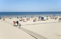 Latvia. Rest in Jurmala, resort of world value. Royalty Free Stock Photography