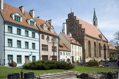 Latvia, Riga. An old city. stock images