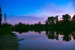 Latvia river royalty free stock photo