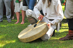 Latvian ancient percussion instrument Royalty Free Stock Photo