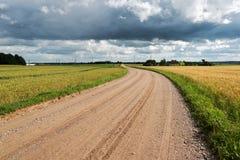 Latvian countryside. Royalty Free Stock Photos