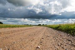 Latvian countryside. Stock Photo