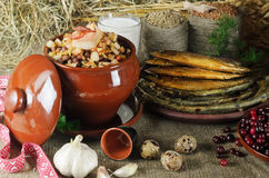 Latvian Food Royalty Free Stock Image