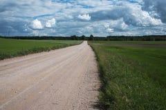 Latvian krajobraz Zdjęcie Royalty Free