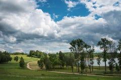 Latvian krajobraz Zdjęcie Stock