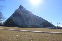 Latvian krajowa biblioteka Obrazy Stock