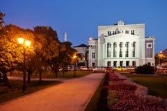 Latvian National Opera in Riga Stock Photo