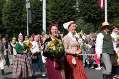 Latvian National Song and Dance Festival Stock Photo