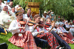 Latvian National Song and Dance Festival Royalty Free Stock Image