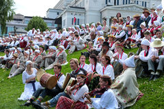 Latvian National Song and Dance Festival Stock Image