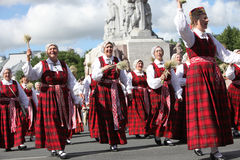 Latvian National Song and Dance Festival Royalty Free Stock Photo