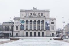 latvian nationell opera royaltyfri foto