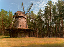 Latvian Open-Air Ethnographic Museum in Riga Stock Photography