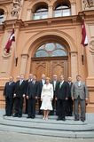 Latvian Prime Ministers Stock Images