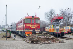 Latvian Railway History Museum Royalty Free Stock Image