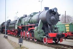 Latvian Railway History Museum Royalty Free Stock Photos