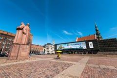 Latvian Riflemen Square Stock Image