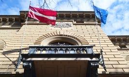Latvian Saeima Republican. Building of Latvian Saeima Republican in Riga, Latvia Stock Photo