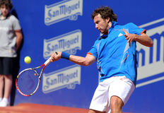 Latvian tennis player Ernests Gulbis Stock Images