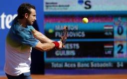 Latvian tennis player Ernests Gulbis Stock Image