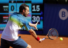 Latvian tennis player Ernests Gulbis Royalty Free Stock Image