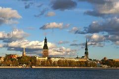latvija gammala riga Royaltyfri Bild