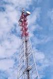 Latwerk met antennes Royalty-vrije Stock Fotografie