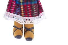 Latyno-amerykański Gałganiana lala Zdjęcia Stock