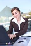 latynoska biznesowej pretty woman Obraz Royalty Free