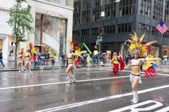 2016 Latynoskich dni parad w Nowy Jork Zdjęcie Stock