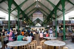 Lau Pa Sat Festival Market fotografering för bildbyråer