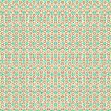 Laub-Sternchen-Vereinbarung Gewebe-Illustrations-nahtloses Muster-Ba des abgehobenen Betrages abstrakte Lizenzfreies Stockfoto