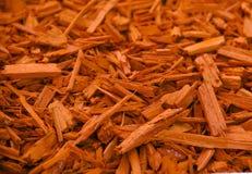 Laubdecken-orange dekorative Barke lizenzfreie stockfotografie