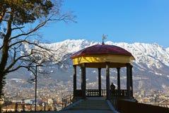 Laube in Innsbruck Österreich Stockfoto