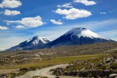 Lauca park narodowy, Chile Obrazy Royalty Free