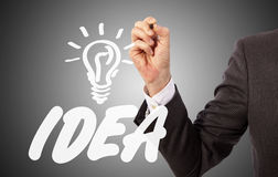Lauch your idea Stock Images